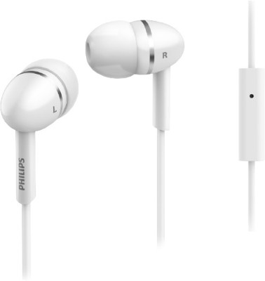 Philips SHE1455WT In the Ear Headset(White)
