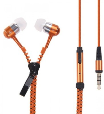 ZOON ZIPPER-ORANGE SOUND BLAST SERIES Wired Headset