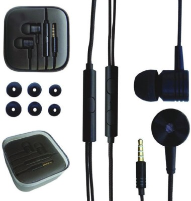 Boyhood Value Mi Piston Earphone Black Color Wired Headset Wired Headset