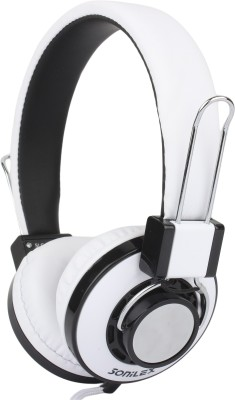 Sonilex SLG-1006HP Wired Headset With Mic(White)