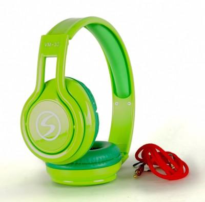 Zoon SIGNATURE-VM 33-GREEN SOUND BLAST SERIES Wired Headset