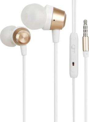 Saturn Retail Me Wired Headset With Mic(Golden)