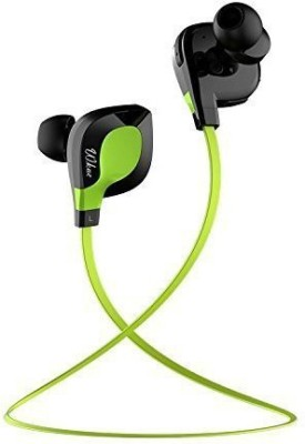 Diebell Diebell Headset Wired & Wireless Bluetooth Headset With Mic(Green)