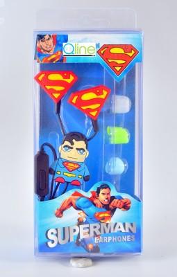 Qline Superman Wired Headset