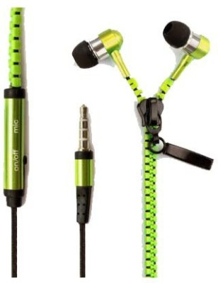 Celphy Zipper Premium Quality Wired Headset