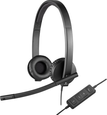 Logitech H570e On Ear USB Headset