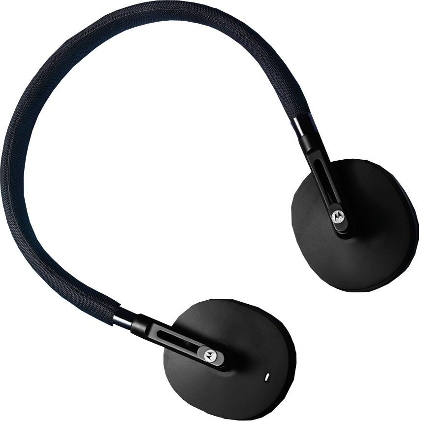 Motorola Pulse S505 Wireless Bluetooth Headset With Mic(Black)