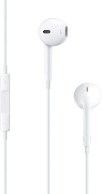 Apple Earpods With Remote And Mic Wired Headset With Mic(White)