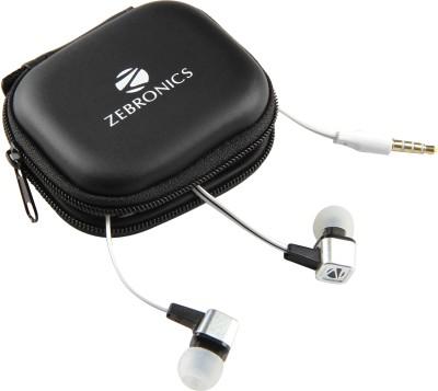 Zebronics Em1 White Wired Headset