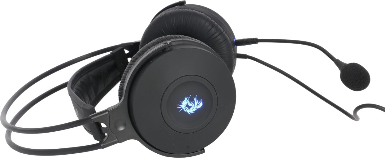 Dragon War GHS001 Garand Wired Gaming Headset With Mic(Black)