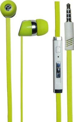 Kewin Stylish Handsfree Bj Gold 1008 Green Wired Headset