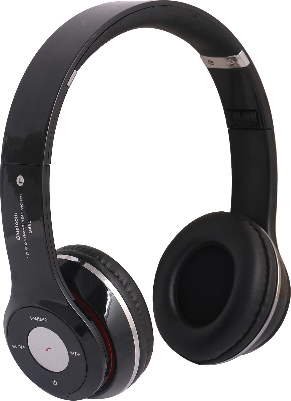 REJUVENATE S460 WIRED & WIRELESS WITH TF CARD SUPPORT Wired & Wireless Bluetooth Gaming Headset With Mic(Black)