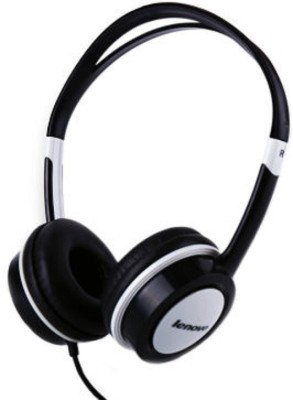 Lenovo P410 Wired Headset With Mic(Black)
