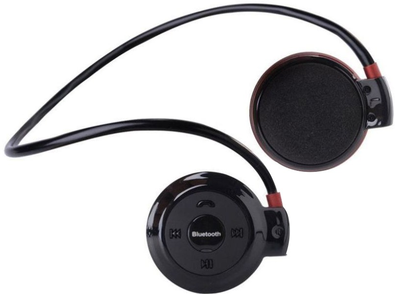Asmart Mini 503 Wireless Bluetooth Headset With Mic(Black)