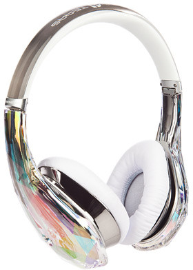 Monster 128295 Wired Headset With Mic(Crystal)