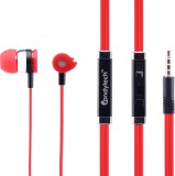 Candytech HF-S-50-Red Wired Headset With...