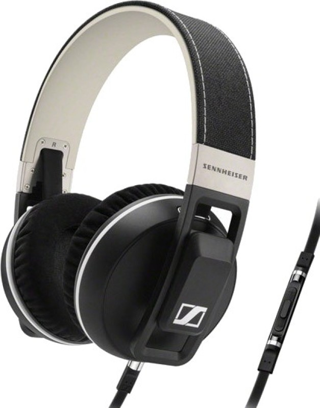 Sennheiser Urbanite XL Wired Headset With Mic(Black)