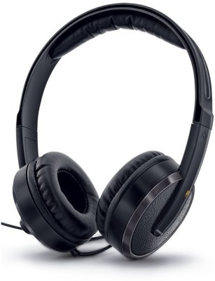 iBall Iball Fluid 20 Wired Headset With Mic(Black)