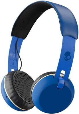 Skullcandy S5GBW-J546 Grind Wireless Bluetooth Headset With Mic(Royal Blue)