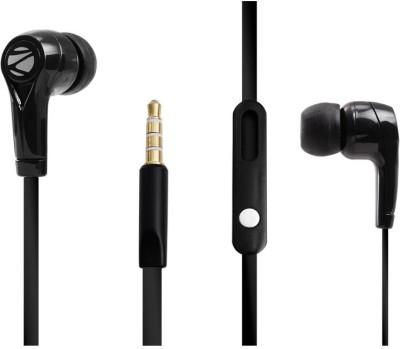 Zebronics ZEB-EM970 Wired Headset With Mic(Black)