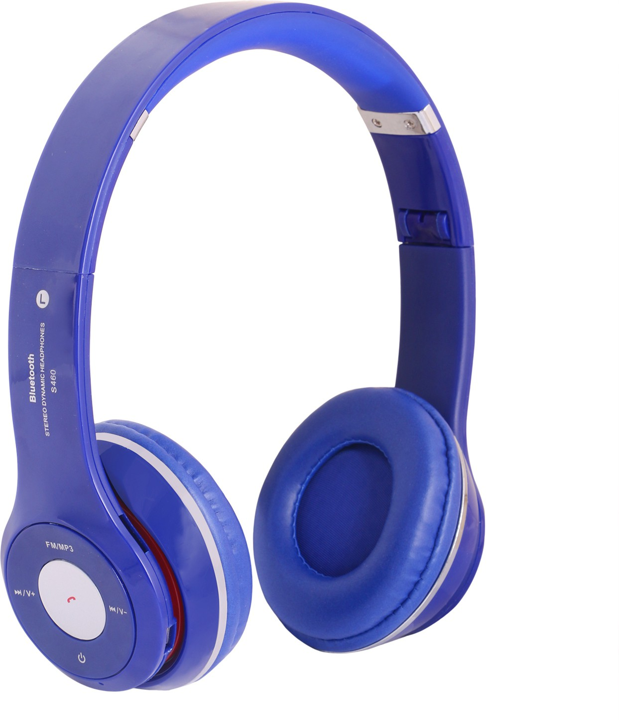 REJUVENATE S460 WIRED & WIRELESS Wired & Wireless Bluetooth Gaming Headset With Mic(Blue)