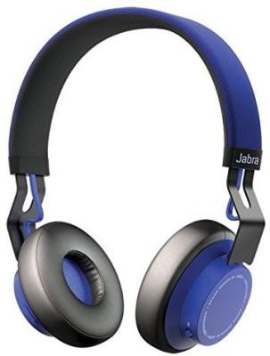 Jabra Move Wireless Bluetooth Headset With Mic(Blue)