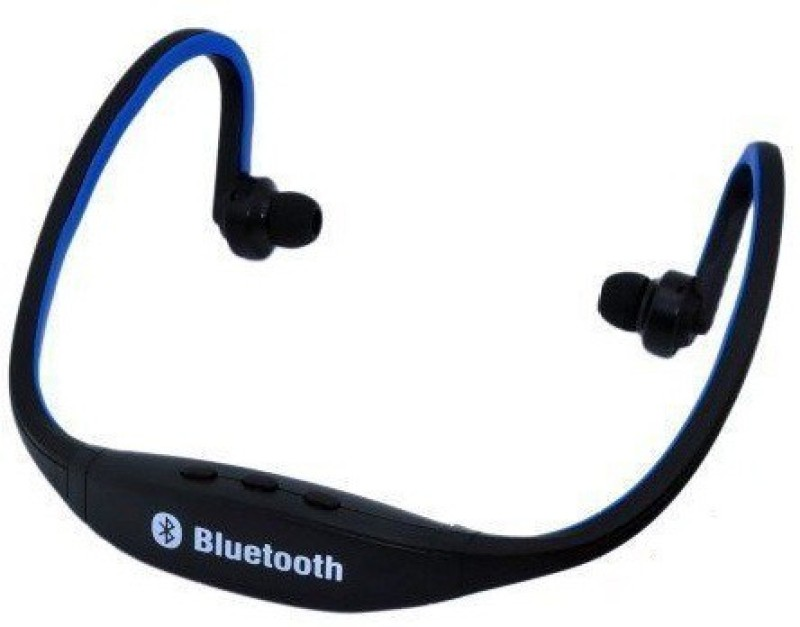 Tech Station BT-230 Wireless Bluetooth Headset With Mic(Multicolour)