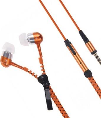 Casreen 1103128 Premium ZIpper Style Wired Headset