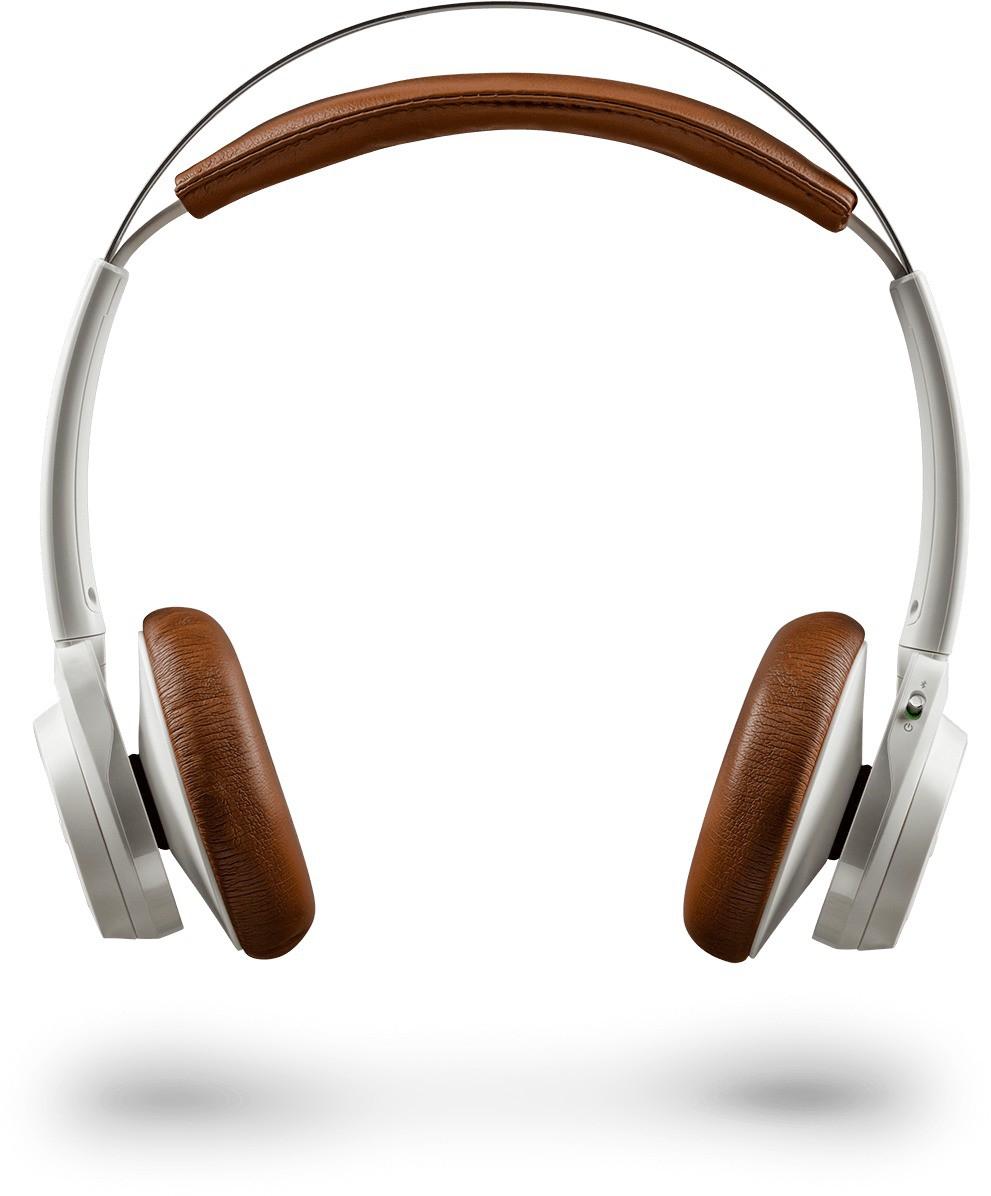 Plantronics Backbeat Sense Wireless Bluetooth Headset With Mic(White)