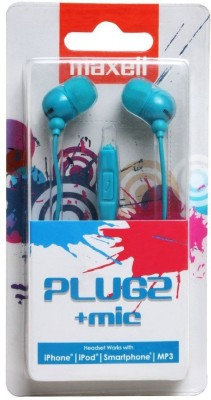 Maxell Plugz with Mic Wired Headset