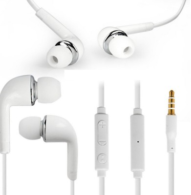 YND J5 For Gionee Pioneer P3 - White Wired Headset