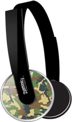 Zebronics Brio Wired Headset With Mic(Militery Grey)