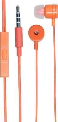 Zoon Ultra Bass Sound MI PAPER Orange Wired Headset
