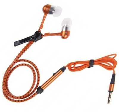 Casreen 1103063 Premium ZIpper Style Wired Headset