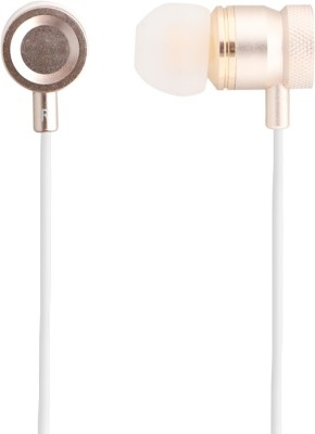 OWO W3 Wired Headset With Mic(Gold)