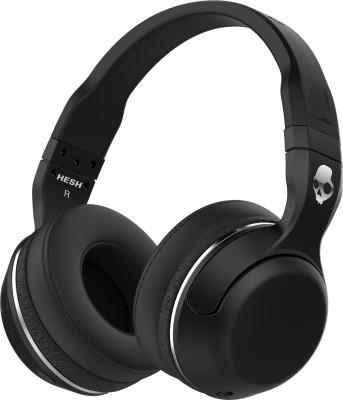 Skullcandy S6HBGY-374 Wireless Bluetooth Headset With Mic(Black)
