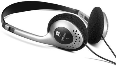 iBall I342 UNIVO Wired Headset With Mic(GREY / BLACK)