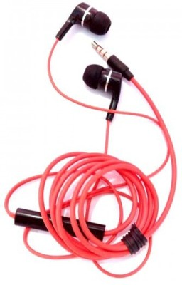 A Connect Z PHIL-SHE-2300 Great Sound Base -24 Wired Headset With Mic(Red)