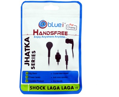 Bluei High Quality Jhatka Series for Samsung, Apple, Htc, Micromax, Xiomi, Lenovo Wired Headset