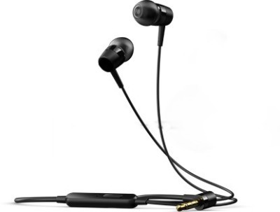 BJ Gold Asus Headphone Asus Zenphone 5 Earpods EarBuds Earphones Handsfree Headphones Wired bluetooth Headphones(Black, In the Ear)