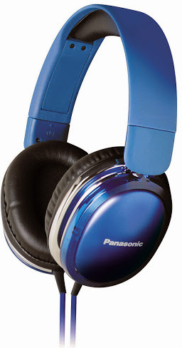 Panasonic RP-HX350ME Wired Headset With Mic(Blue)