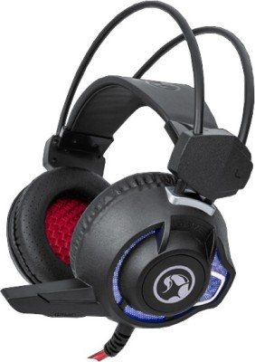 Marvo H8656BK Scorpion Wired Gaming Headset Wired Headset