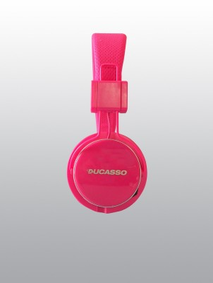 Ducasso SD9000 Pink Wired Headset