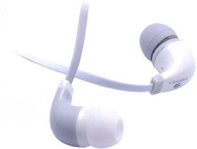 Zebronics EM 750 with mic Wired Headset With Mic(White)