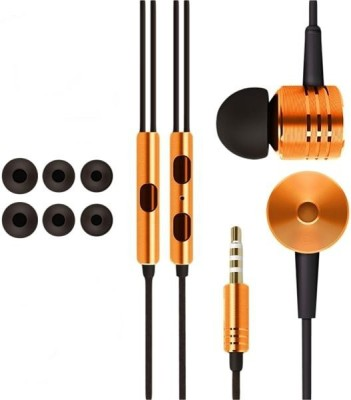 Kewin Stereo Wired MIPlastic Box-Orange Wired Headset