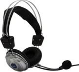Speed Headphone with Mike for Net Chatti...