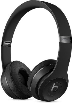 Beats MP582ZM/A Wireless Bluetooth Headset With Mic(Black)