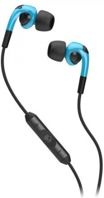 Skullcandy Fix In-Ear Headphone SCS2FXFM-312 Wired Headset With Mic(Black, Blue)