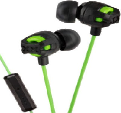 JVC HA-FR201-G Wired Headset With Mic(Green)