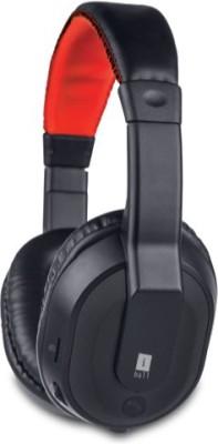 iBall MusiTap-Black Wireless Bluetooth Headset With Mic(Black)